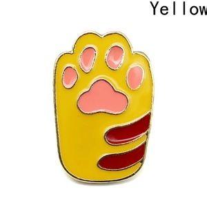 Coming soon! Rare yellow paw Pin  | Brooch 💜